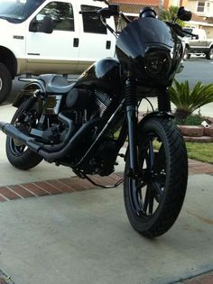 Blacked out dyna...my future ride