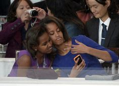 First Daughters Malia Obama And Sasha Obama....