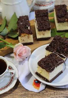 Cake Cookies, Tiramisu, Waffles, Baking, Breakfast, Ethnic Recipes, Food, Drink, Polish Food Recipes