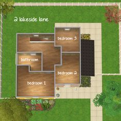 Poppet — simsjpg requested a house with 3 bedrooms. I got a...