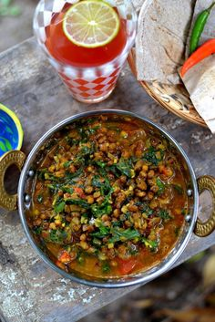 Moong Palak: Spinach & Mung Beans Curry  Other awesome indian recipe links