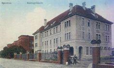 Koszary (Clausewitz - Kaserne), Szprotawa - 1923 rok, stare zdjęcia