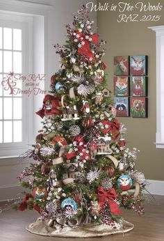 RAZ Walk in The Woods Christmas Tree http://www.trendytree.com