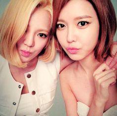 Hyoyeon and Sooyoung