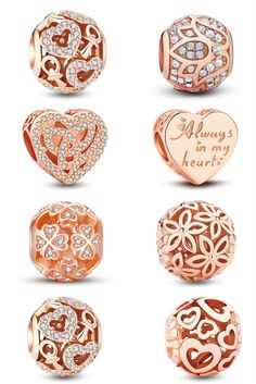 >>>Pandora Jewelry OFF! >>>Visit>> The most popular Rose Gold charms! Pandora Charms Rose Gold, Pandora Bracelet Charms, Pandora Jewelry, Cute Jewelry, Charm Jewelry, Jewelry Stores Near Me, Butterfly Necklace, Rose Gold Jewelry, Tiffany