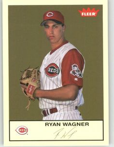 2005 Fleer Tradition 210 Ryan Wagner - Cincinnati Reds (Baseball Cards) *** Check out the image by visiting the link.