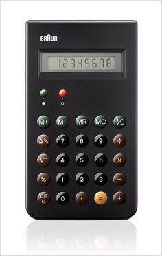 Braun Reissues A Dieter Rams Design Classic: The ET 66 Calculator | Co.Design: business + innovation + design