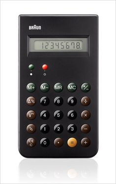 Braun Reissues A Dieter Rams Design Classic: The ET 66 Calculator | Co.Design: business + innovation + design