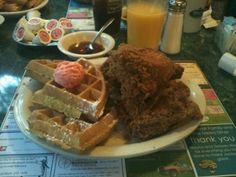 Chicken & Waffles…& Diabetes but it's worth it.