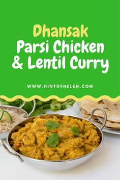 Chicken Dhansak is a lentil based curry with authentic sweet and sour flavours from butternut squash and lime juice. Follow this healthy recipe: