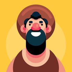 Flat Design Character Illustration In Adobe Illustrator CC can find Flat design and more on our website.Flat Design Character Illustration In Adobe Illustrator CC 2019 Illustration Design Plat, Illustration Landscape, Illustration Tattoo, Character Illustration, Graphic Illustration, Design Illustrations, Icon Design, Line Art Design, Character Design Tutorial