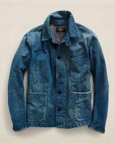 Cotton-Linen Lawford Jacket - RRL Cloth - RalphLauren.com