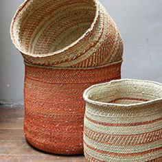 Baskets from Tanzania