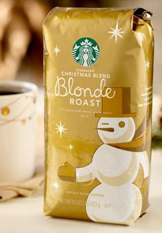 Starbucks® Christmas Blend Blonde Roast - must try this Starbucks Flavors, Starbucks Holiday Blend, Starbucks Christmas, Starbucks Recipes, Starbucks Coffee Beans, Free Coupons By Mail, Coffee Words, Coffee Facts, Snacks Saludables