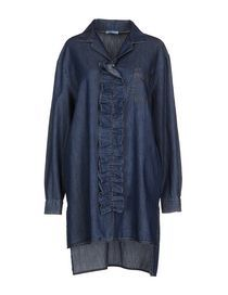 PRADA - Джинсовая рубашка Denim Button Up, Button Up Shirts, Fashion Online, Prada, Jeans, Fashion Design, Shopping, Tops, Chemises