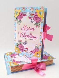 Convite Tipo Livro - Conto de Fadas <br> <br>Um modelo de convite que certamente impressionará seus convidados! <br>No formato de um livro, 3d.