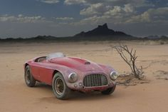 Just an old Ferrari left in the AZ desert. For more info about this car, click on link