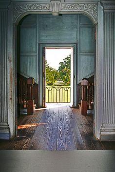 I hope the interior of my future farm house looks like this. Drayton Hall, Charleston, South Carolina, 1742