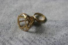 Diamond Ring: line diamond ring