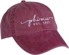 Carnation Collection provides exclusive Phi Mu merchandise, and infuses all proceeds back into the Fraternity to benefit all members. Sae Fraternity, Day Bag, Baseball Hats, Burgundy, Vintage Fashion, Phi Mu, Leather, Accessories, Sweet