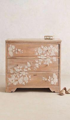 Anthropologie - Anthropologie Pearl Inlay Dresser
