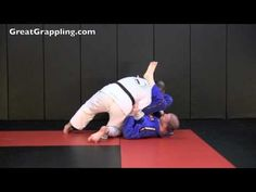 """Gerbil showing the """"Zorro Pass"""" when attacking your opponent's open guard"""