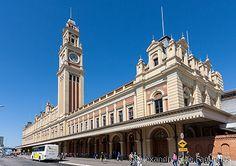 Luz Train Station - São Paulo - Brazil  / © Alexandre F de Fagundes