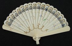 Vintage Art Deco Flappers Pierced & Painted Cream by rupertandtoby