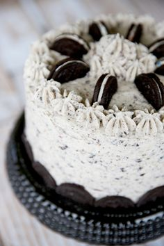cookies-n-cream cake (a doctored cake mix recipe)--sounds like a winner!