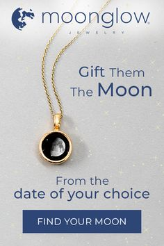 Moonglow is jewelry that features the picture of the moon from the date of your choice. Your moon will absorb light and glow in dark environments. The Best Holiday Pins 2019 Bf Gifts, Cool Gifts, Holiday Gifts, Gifts For Her, Unique Gifts, Christmas Gifts, Client Gifts, Perfect Gift For Her, Amai