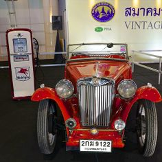 MG TB (1939) at the 30th Thailand International Motor Expo 2013