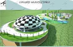 Planetario M-42, Conjunto Arquitectonico