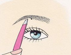 Shape Perfect Eyebrows In 4 Easy Steps  http://www.prevention.com/beauty/how-pluck-perfect-eyebrows