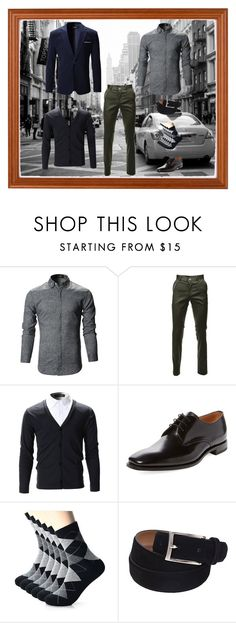 """""""#Casual Autumn Style"""" by flatseven ❤ liked on Polyvore featuring Loake, men's fashion and menswear"""