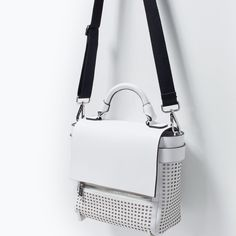 EMBOSSED CITY BAG-Trf-Handbags-WOMAN   ZARA United States