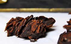 Unwiderstehlich - Plätzchen aus der Glyx-Küche:  Mandel-Espresso-Küsschen