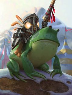 Card Name: Murloc Knight Artist: Sam Nielson