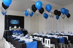 Partyscape from a Star Wars Birthday Party via Kara's Party Ideas | KarasPartyIdeas.com (14)