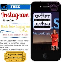 Learning how to market your business on INSTAGRAM for FREE!! Get more Followers and make more $$