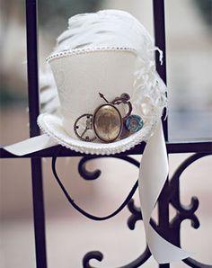 Образ невесты в стиле стимпанк