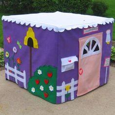 Детский игровой домик своими руками - Сайт для мам малышей