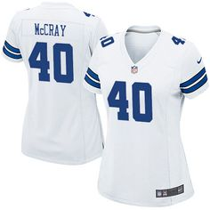 Women s Nike Dallas Cowboys  40 Danny McCray Elite White NFL Jersey Sale  Saints Adrian Peterson a20416394