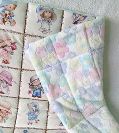 One hour baby quilt tutorial.