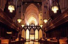 Nave of National Cathedral in Washington DC - Hisham Ibrahim/Getty Images