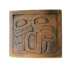 Native American Hand Carved Wood
