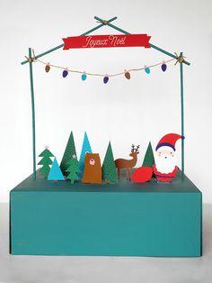 maison de noel diy Plus - Best Pinner Christmas Makes, Christmas Crafts For Kids, Xmas Crafts, Winter Christmas, Christmas Gifts, Paper Crafts, Christmas Ornaments, Christmas Ideas, Printable Christmas Decorations