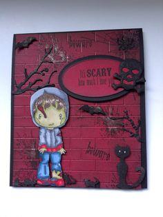 CCdesigns DT Halloween card #1
