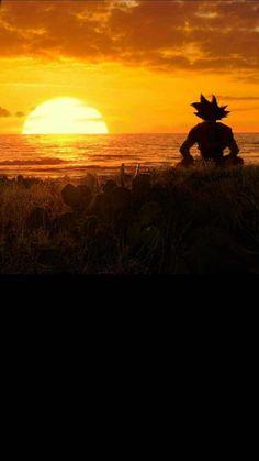 Dragon ball z Dragon ball super Goku Dragon ball Sunset Nature