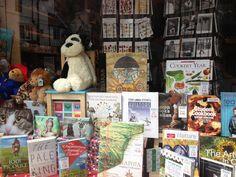 Window Display at The Angel Bookshop in Cambridge