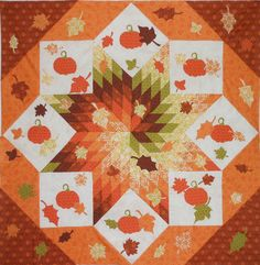 Fall Frenzy Quilt Pattern  by Pink Hippo Quilts